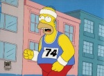Homer, The Simpson, Racing, Running