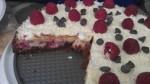 Homemade white chocolate, raspberry cheese cake! OMG!!!