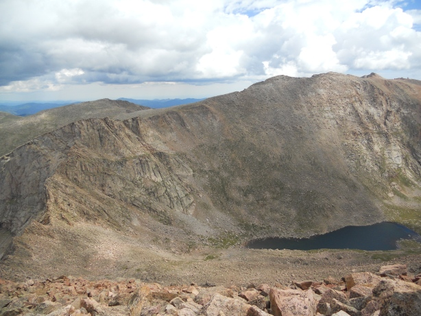 mt. evans viewed from mt. bierstadt