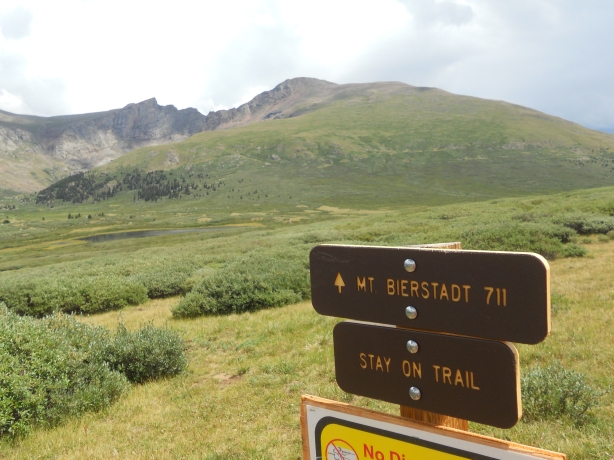 Mt. Bierstadt Trail head