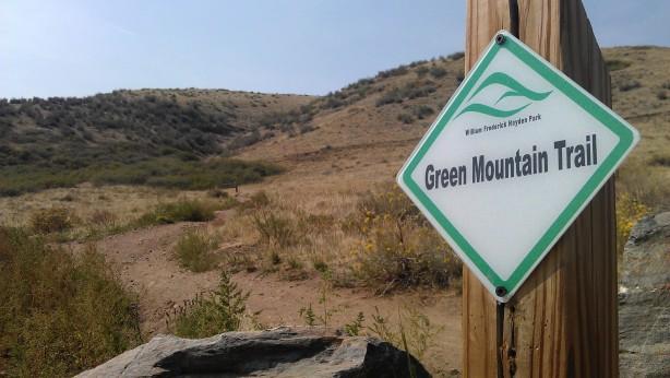 colorado green mountain trails