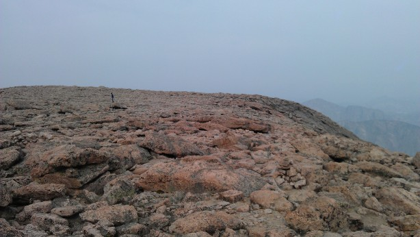 top of longs peak