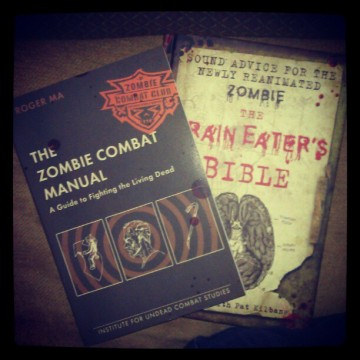 ....and ZOMBIE BOOKS!