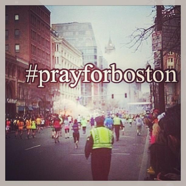 #pray for boston