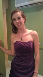 I can clean up nice! And I do occasionally wear dresses....