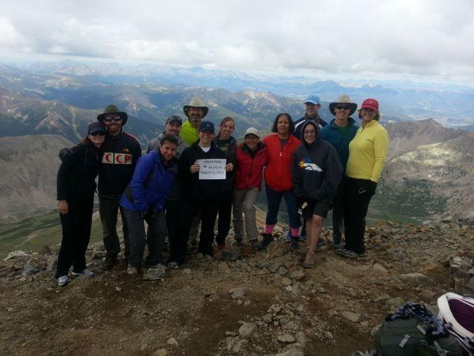 Gray's Peak