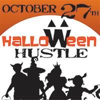 halloween hustle logo