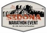 sedona marathon event logo