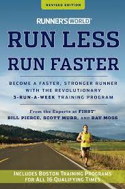 Run Less Run Faster Book cover