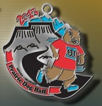 Prarie dog half medal