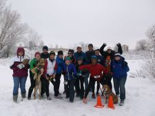 Photo credit: 3W Races. Neighborhood fun runs go on rain or shine (or snow)