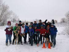 Photo credit: 3W Races. Neighborhood fun runs go on rain or shine (or snow)