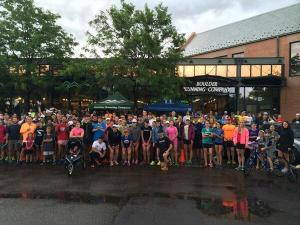 A day from the Boulder Running Company Run Club!