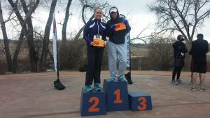 1st in my age group! 4th overall female.