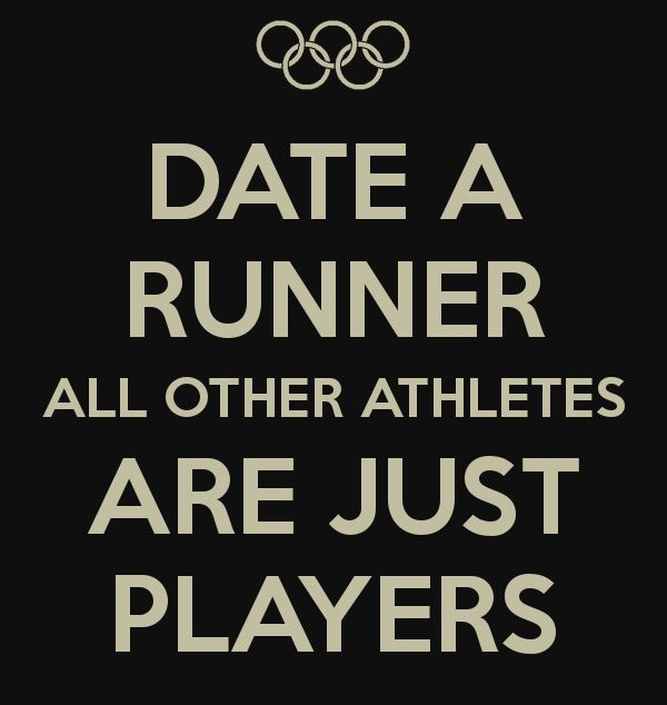 Runners dating non runners