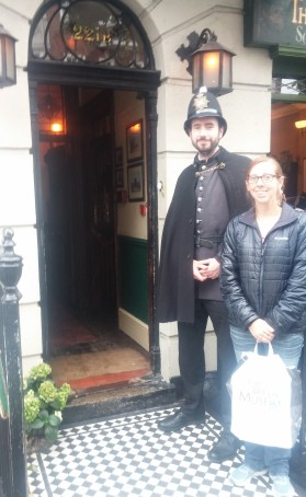 Sherlock Holmes Museum on Baker St.
