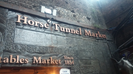 Walked along the canal and stopped at the Camden Markets...including this really cool Horse Tunnel Maket