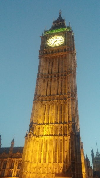 My favorite thing...Big Ben! So beautiful!