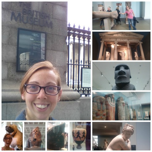 THE BRITISH MUSEUM! So COOL! Saw the Rosetta Stone and I'm a huge fan of Egyptian Stuff, plus can you say, Night at the Museum 3?!