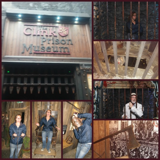 Clink Prison Museum! It was awesome!