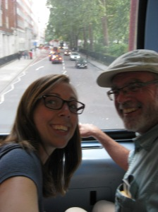 Navigated public transportation and rode some Double Decker Buses!