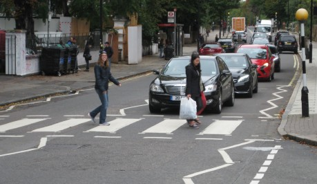 Took a walk across Abbey Road!