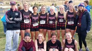 The girls team at Regionals!