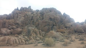 the Alabama hills..interesting rocks!