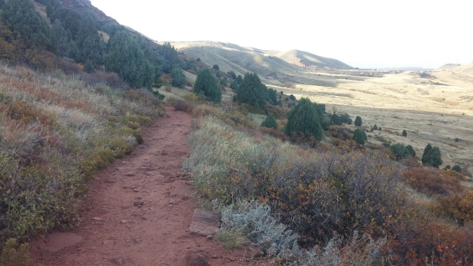 Matthew/Winter's Trail, Golden, CO - Spring Time. One of my all time favorite places to run!